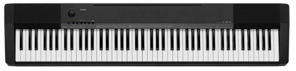 Piano Digital Casio CDP 135 BK