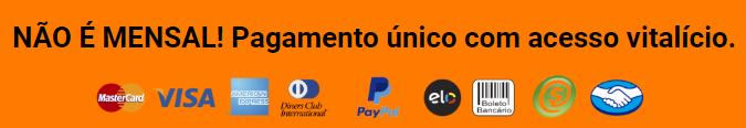Poder das Teclas formas de pagamento