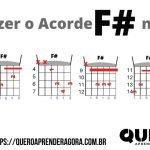Acorde F# Violão