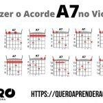 Acorde A7 Violão