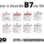 Acorde B7 Violão