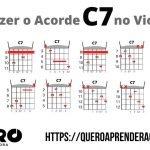 Acorde C7 Violão
