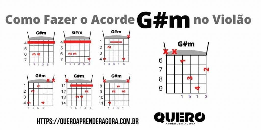 Como Fazer o Acorde G#m Violão